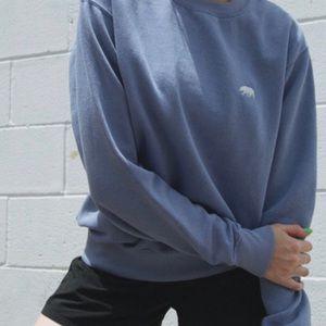 Brandy Melville Erica Bear Sweatshirt